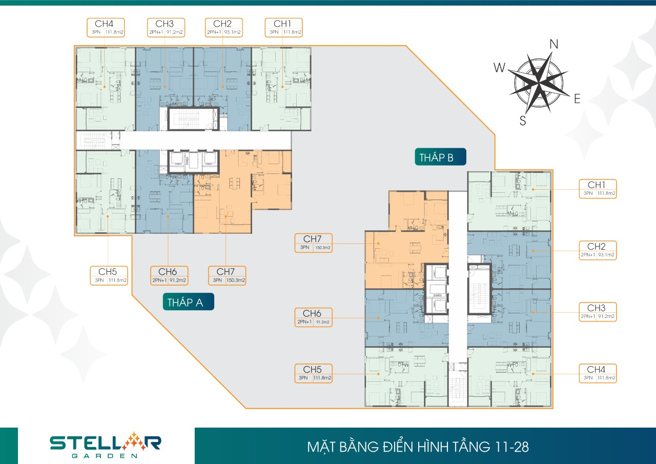 mat bang tang 11-28 stellar garden